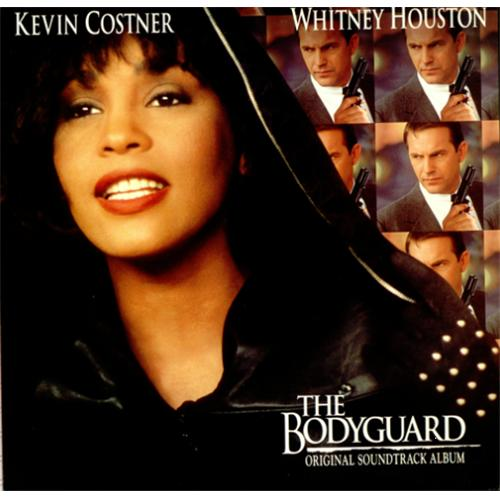 Whitney Houston The Bodyguard vinyl LP album (LP record) German HOULPTH238237