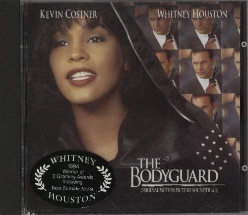 Whitney Houston The Bodyguard CD album (CDLP) German HOUCDTH428919