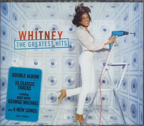 Whitney Houston The Greatest Hits UK 2 CD album set (Double CD) (181219)