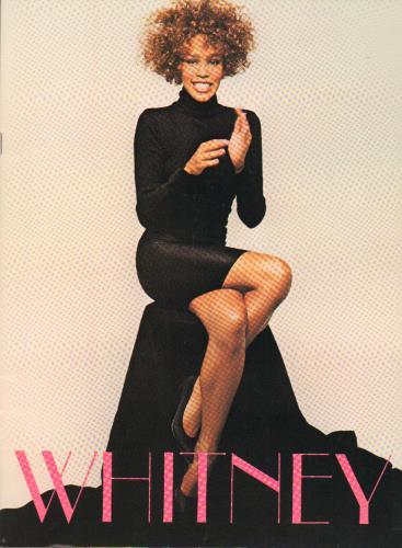 Whitney Houston The Greatest Love Tour + Ticket Stubs tour programme US HOUTRTH432978