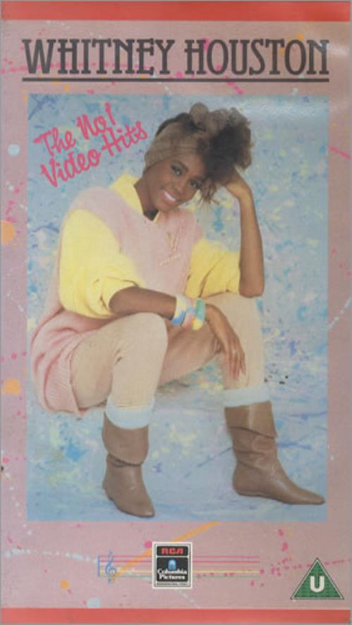 Whitney Houston The No.1 Video Hits video (VHS or PAL or NTSC) UK HOUVITH160949
