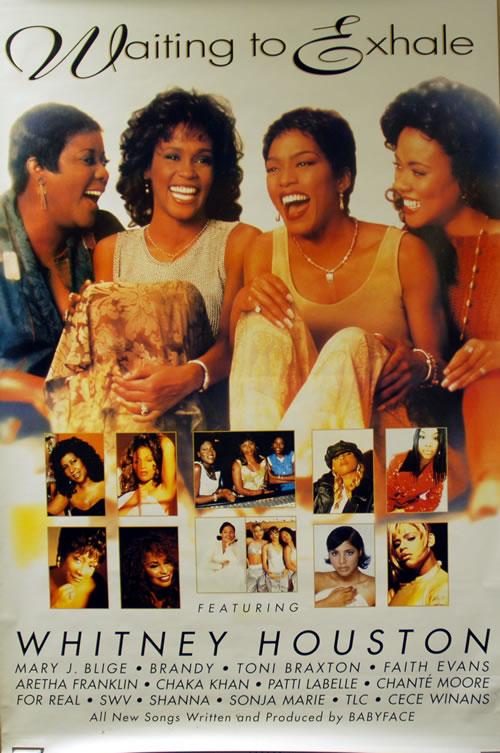 Whitney Houston Waiting To Exhale poster UK HOUPOWA59585