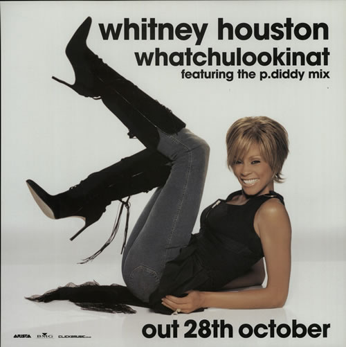 Whitney Houston Whatchulookinat display UK HOUDIWH632037