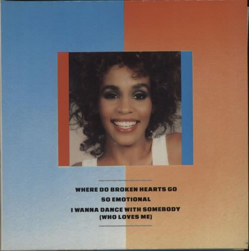 "Whitney Houston Where Do Broken Hearts Go - Gatefold CD single (CD5 / 5"") German HOUC5WH49705"