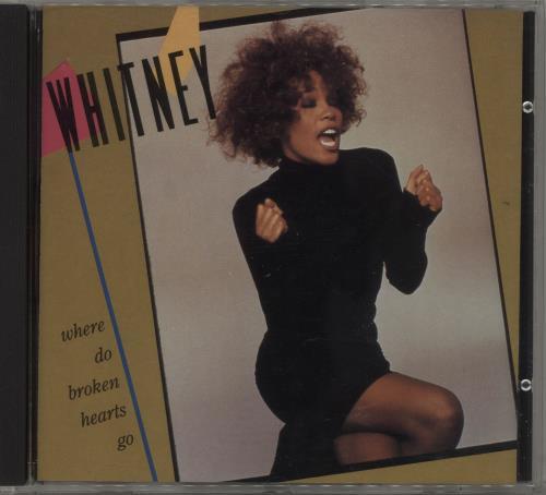 "Whitney Houston Where Do Broken Hearts Go CD single (CD5 / 5"") US HOUC5WH35055"