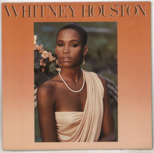 Whitney Houston Whitney Houston vinyl LP album (LP record) German HOULPWH240904
