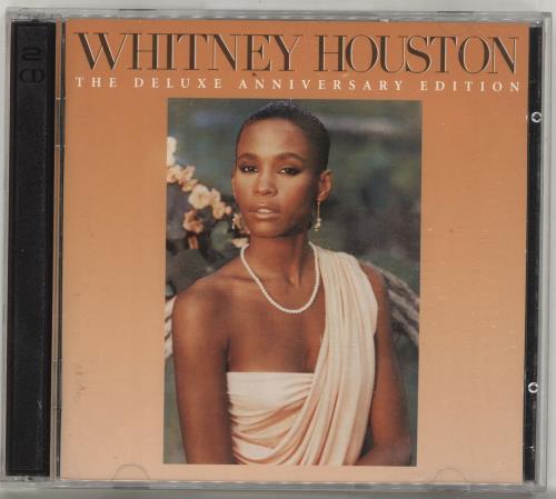 Whitney Houston Whitney Houston 2-disc CD/DVD set UK HOU2DWH696269