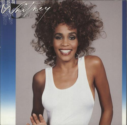 Whitney Houston Whitney vinyl LP album (LP record) German HOULPWH240030