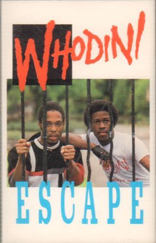 Whodini Escape cassette album UK WK7CLES645763