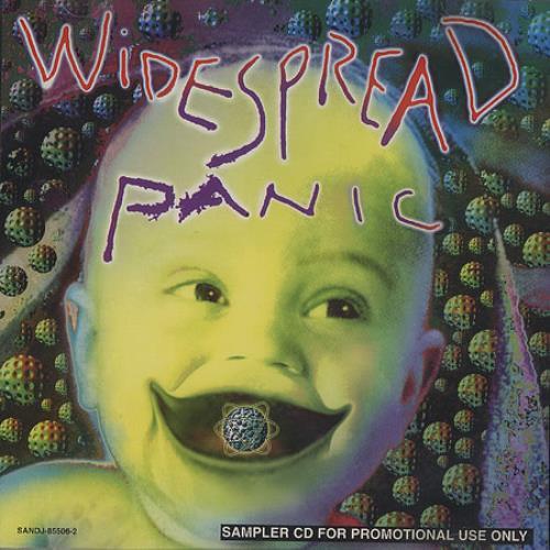 "Widespread Panic Widespread Panic Album Sampler CD single (CD5 / 5"") UK WA2C5WI375310"