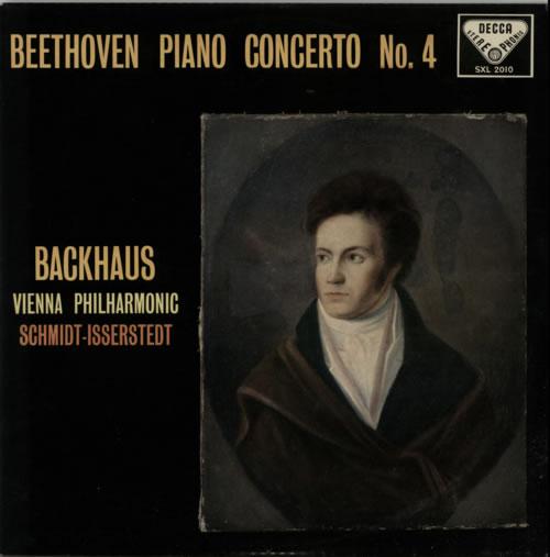 Wilhelm Backhaus Beethoven: Piano Concerto No. 4 In G Major vinyl LP album (LP record) UK XYOLPBE595885