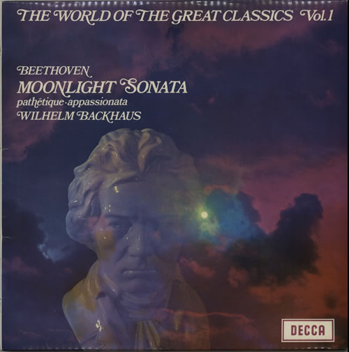 Wilhelm Backhaus The World Of The Great Classics Vol.1 vinyl LP album (LP record) UK XYOLPTH639780