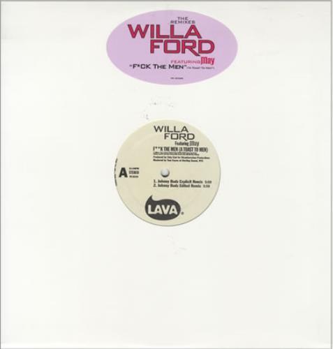"Willa Ford F@!k The Men (A Toast To Men) 12"" vinyl single (12 inch record / Maxi-single) US W-F12FK266666"