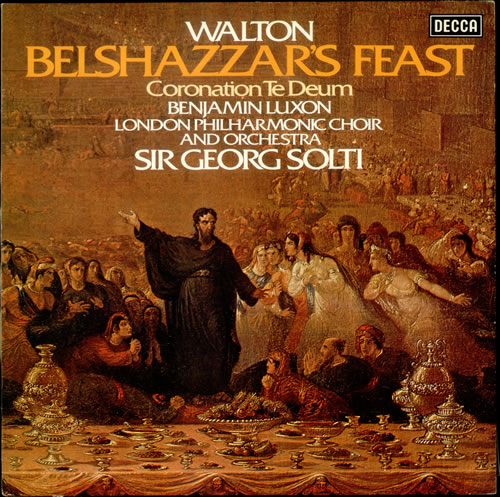William Walton Belshazzar's Feast & Coronation te Deum vinyl LP album (LP record) UK WCFLPBE531851
