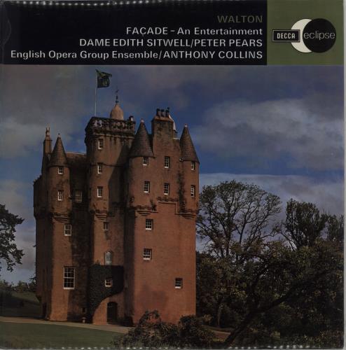 William Walton Façade - An Entertainment vinyl LP album (LP record) UK WCFLPFA658907