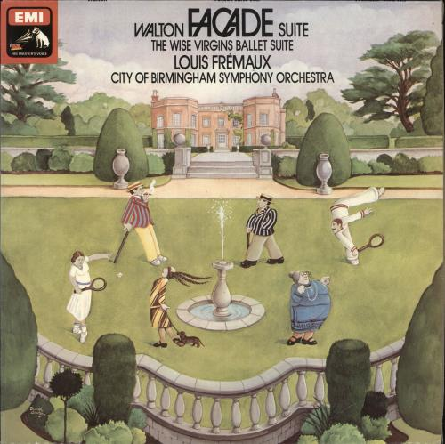 William Walton Facade Suite  / The Wise Virgins Ballet Suite vinyl LP album (LP record) UK WCFLPFA713731
