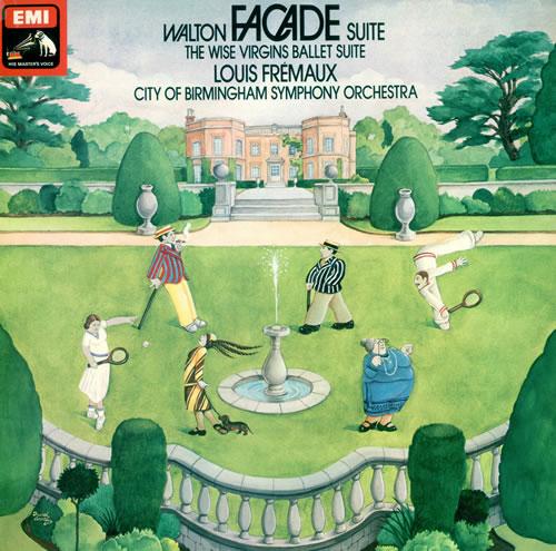 William Walton Facade Suite - Factory Sample - Quad vinyl LP album (LP record) UK WCFLPFA482686