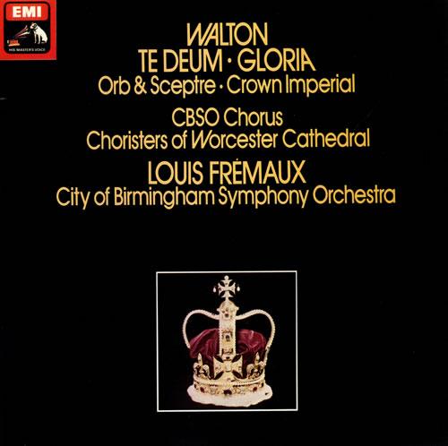 William Walton Te Deum, Gloria - Quad vinyl LP album (LP record) UK WCFLPTE482643