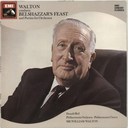 William Walton Walton conducts Belshazzar's Feast & Partita for Orchestra vinyl LP album (LP record) UK WCFLPWA704556