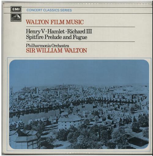 William Walton Walton Film Music vinyl LP album (LP record) UK WCFLPWA537329