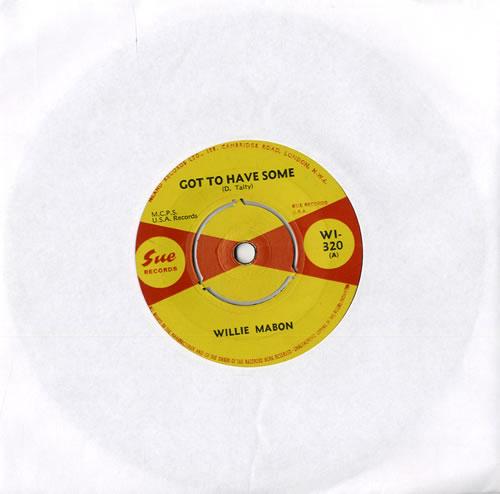 Willie Mabon Got To Have Some - EX UK 7