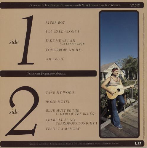 Willie Nelson There'll Be No Teardrops Tonight vinyl LP album (LP record) UK WNLLPTH757080