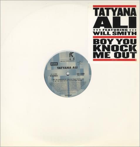 "Will Smith Boy You Knock Me Out 12"" vinyl single (12 inch record / Maxi-single) US WSM12BO393359"