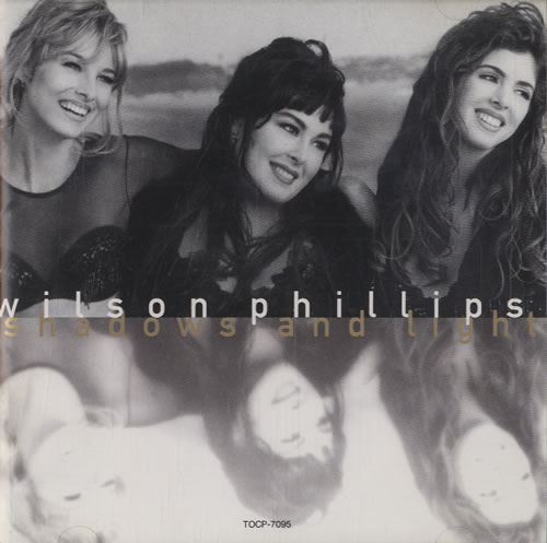 Wilson Phillips Shadows And Light CD album (CDLP) Japanese WPHCDSH473603