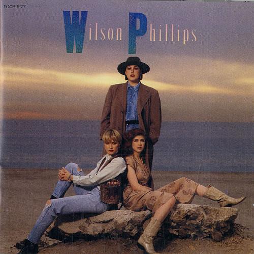 Wilson Phillips Wilson Phillips CD album (CDLP) Japanese WPHCDWI483107