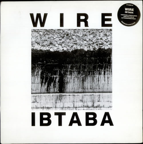 Wire It's Beginning To And Back Again - limited edition vinyl LP album (LP record) UK WIRLPIT308211