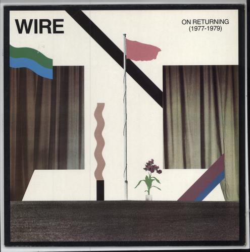 Wire On Returning 1977-1979 UK vinyl LP album (LP record