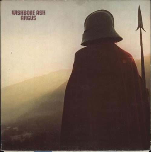 Wishbone Ash Argus - 1st - EX vinyl LP album (LP record) UK WSHLPAR173924