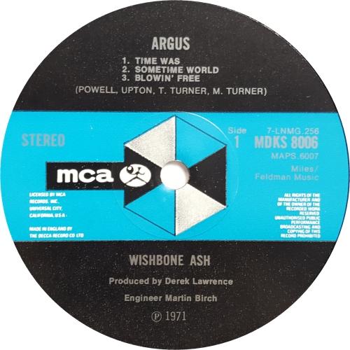 Wishbone Ash Argus - 1st - VG vinyl LP album (LP record) UK WSHLPAR636979