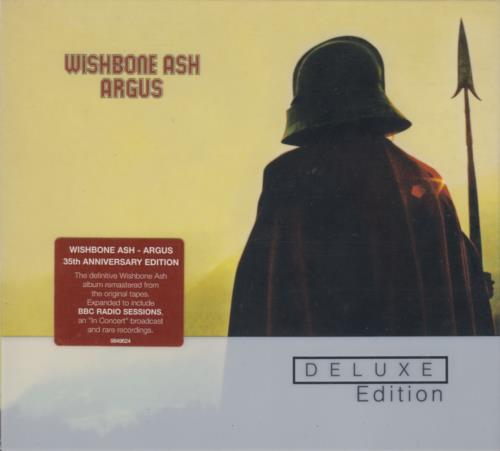 Wishbone Ash Argus - Deluxe Edition 2 CD album set (Double CD) UK WSH2CAR657727