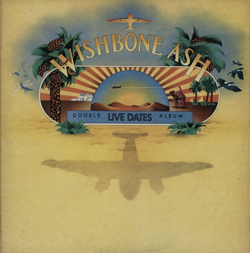 Wishbone Ash Live Dates - EX 2-LP vinyl record set (Double Album) UK WSH2LLI569236