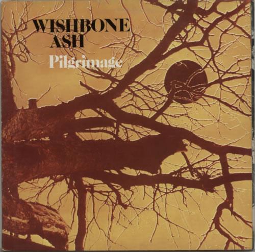 Wishbone Ash Pilgrimage - 2nd - EX vinyl LP album (LP record) UK WSHLPPI216822