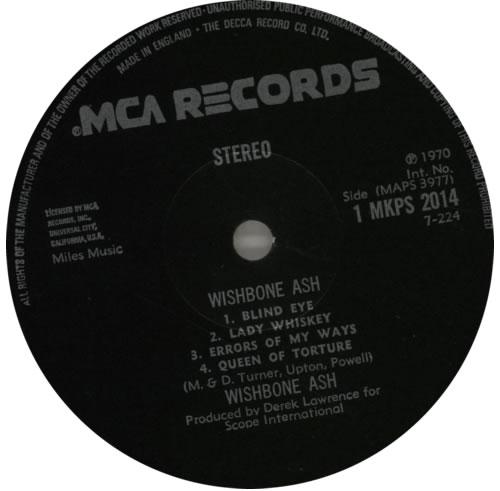 Wishbone Ash Wishbone Ash - 3rd - EX vinyl LP album (LP record) UK WSHLPWI591003
