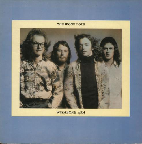 Wishbone Ash Wishbone Four + Poster - VG vinyl LP album (LP record) UK WSHLPWI726830
