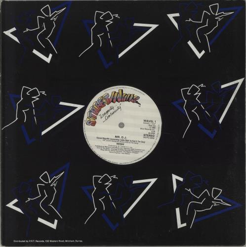 "Wish (Winfred Lovett) Mr DJ 12"" vinyl single (12 inch record / Maxi-single) UK 09Z12MR676899"