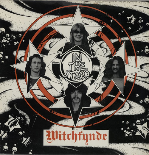 """Witchfynde In The Stars 7"""" vinyl single (7 inch record) UK WIT07IN05651"""