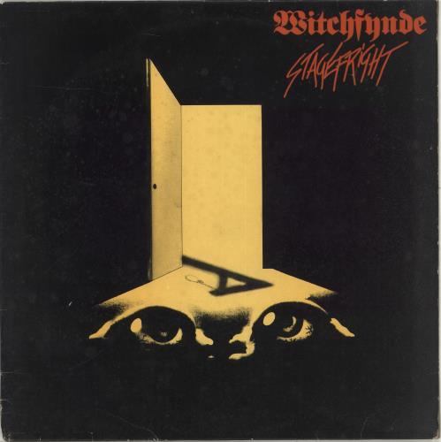 Witchfynde Stagefright vinyl LP album (LP record) UK WITLPST706267