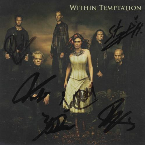 Within Temptation The Heart Of Everything - Autographed CD album (CDLP) UK WPNCDTH719881