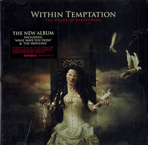 Within Temptation The Heart Of Everything - Special Edition CD album (CDLP) UK WPNCDTH610355