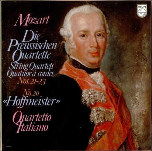 Wolfgang Amadeus Mozart Die Preussischen Quartette Vinyl Box Set Dutch WZMVXDI536043