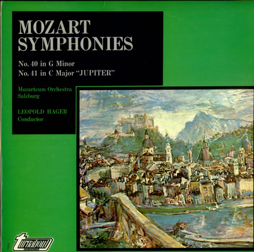 Wolfgang Amadeus Mozart Symphonies No  40 in G minor & No