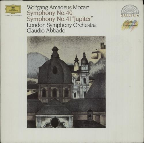 Wolfgang Amadeus Mozart Symphony No. 40 & Symphony No. 41 'Jupiter' vinyl LP album (LP record) German WZMLPSY658524