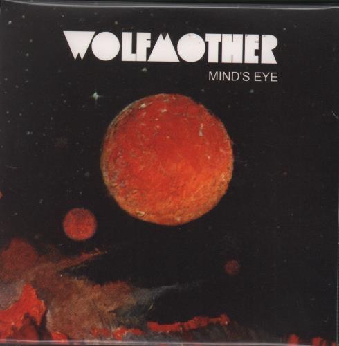 """Wolfmother Mind's Eye CD single (CD5 / 5"""") UK WLOC5MI370716"""