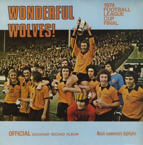 Wolverhampton Wanderers FC Wonderful Wolves! vinyl LP album (LP record) UK WWNLPWO374657