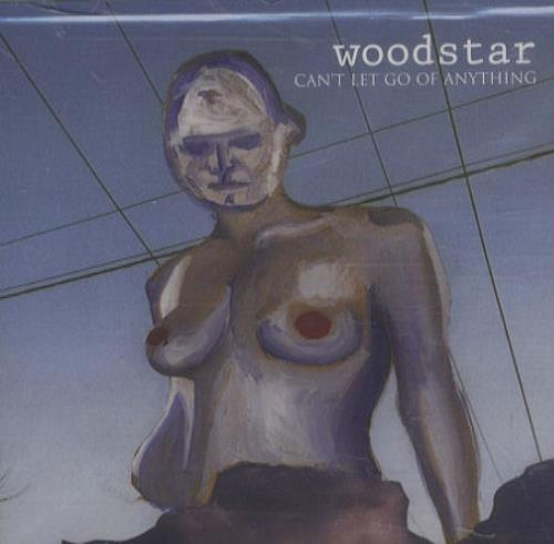 "Woodstar Can't Let Go Of Anything CD single (CD5 / 5"") UK W/SC5CA264862"