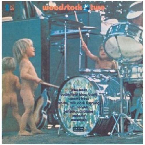 Woodstock Woodstock Two UK 2 CD album set (Double CD) (470945)